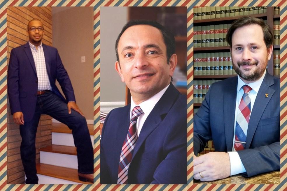 Reginald Jackson, Sherif Guindi, Jackson Fenner