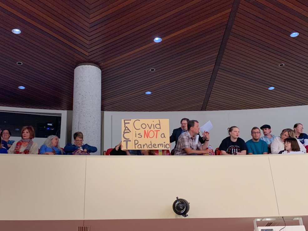County Commission crowd