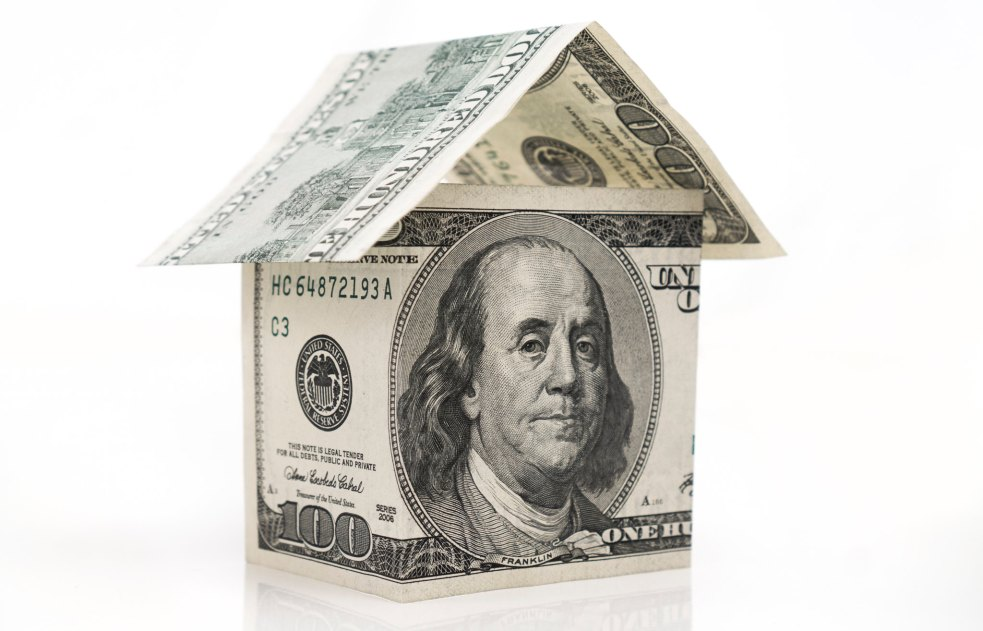Housing money illustration