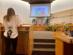Josie Maynard and school board