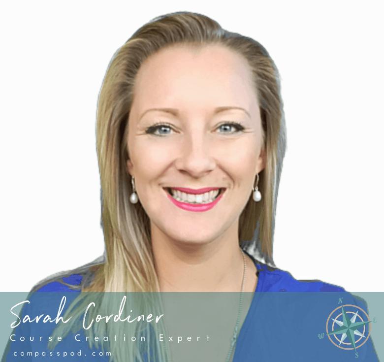 Sarah Cordiner, Online Course Creator