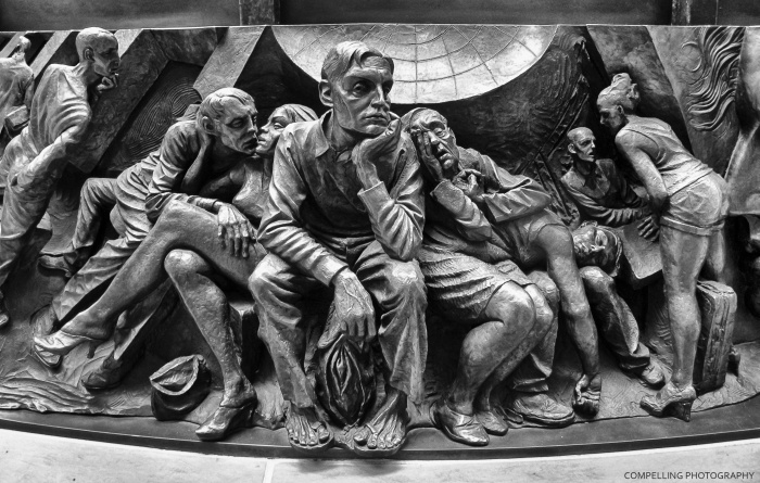 Sculpture at St Pancras