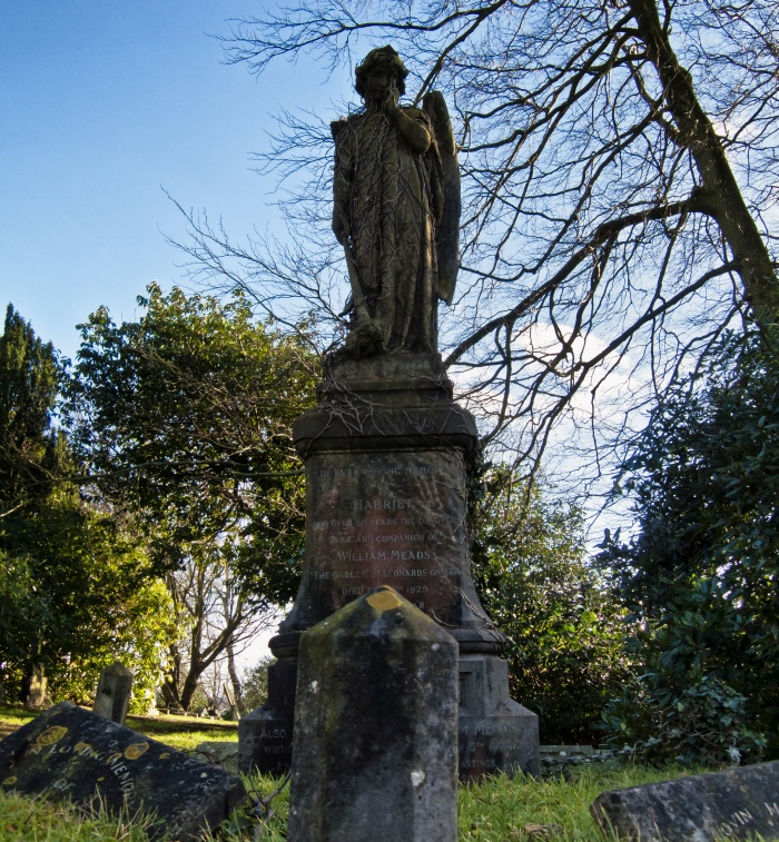 Hastings Cemetery, Harriet Meads Grave
