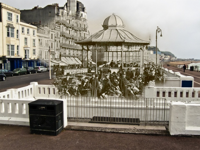 Ghosts Of The Hastings Seafront Bandstand Compelling Photography