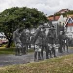 King George V at West Marina 1918