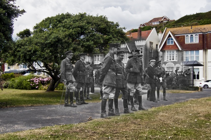 King George V at West Marina Gardens