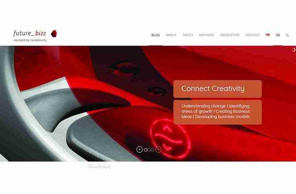 COMPETE liefert Webportal und Artikel für Innovations-Think Tank future_bizz