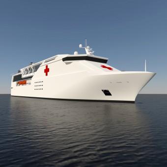 Blue Frontiers Ship Hospital Ship