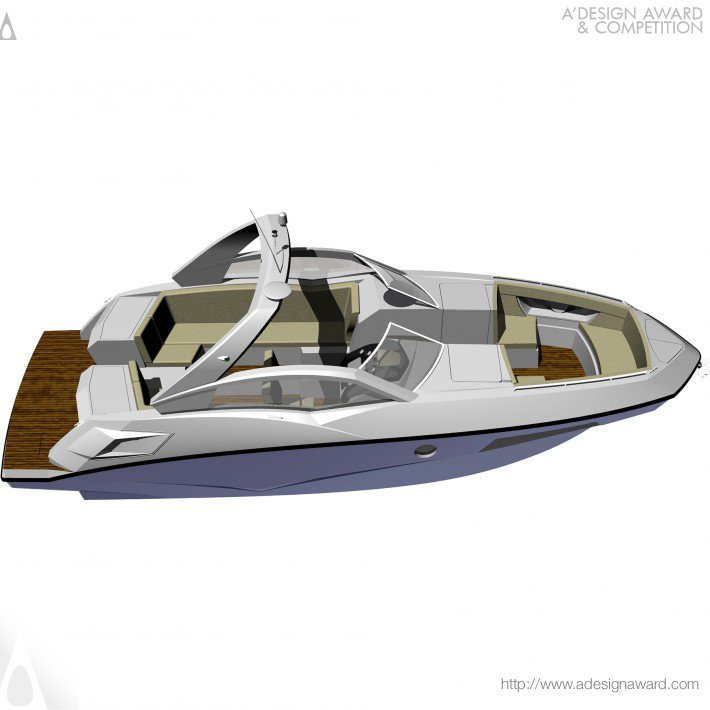 A' Design Award and Competition - Fs 275 Wide Bowrider Motorboat Press Kit