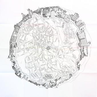 Illustrated Map of Sao Joao da Madeira City Map