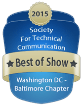 2015 Competition Best of Show badge