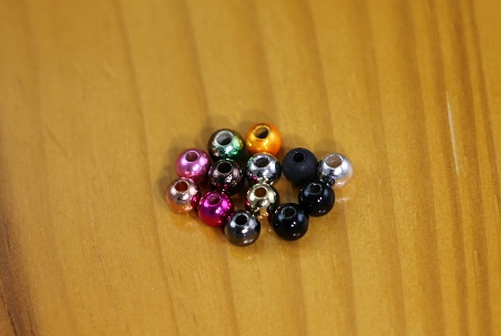 Nickle Counter Sunk Tungsten Beads 25 Beads Per Pack