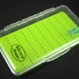 Anglers Image Medium Ultra-Clear Silicone Fly Box (108 Slots)