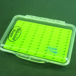 Anglers Image Small Ultra Clear Silicone Fly Box (77 Slits)