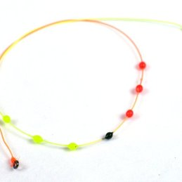 Jan Siman 7 Drop Tricolor Indicator with Tippet Rings
