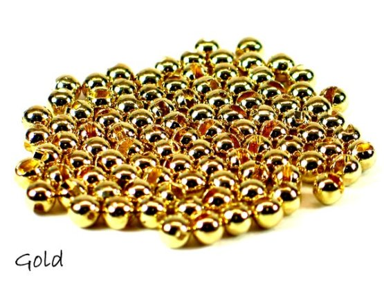 Slotted Tungsten Beads (25 pack)