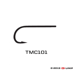 Tiemco 101 Straight Eye Dry Fly Hook