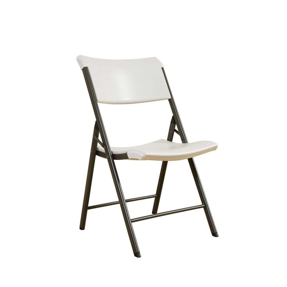 Lifetime Chair Lifetime Folding Chairs 80097 Almond Contemporary Chair 34 Pack