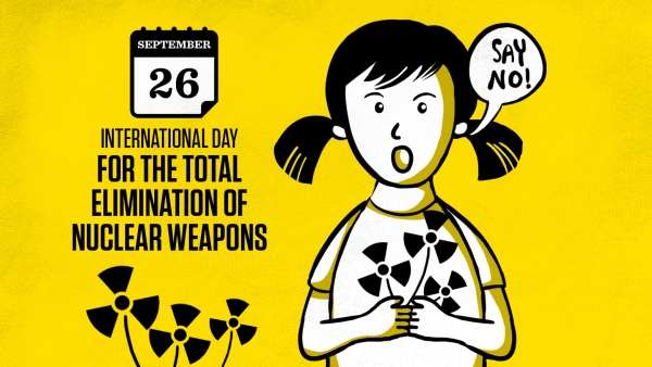 Image result for Images for International Day for Total elimination of Nuclear weapons.