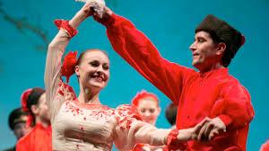 Folk Dancers, St. Petersburg