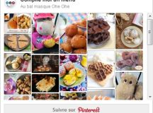 Au bal masqué Ohé Ohé – Tableau Pinterest et dépôt des menus images 2