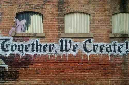 Graffiti Together we create