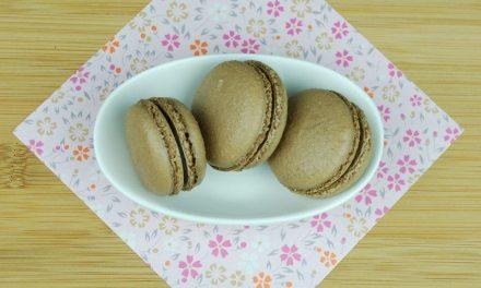 Chocolate Macarons