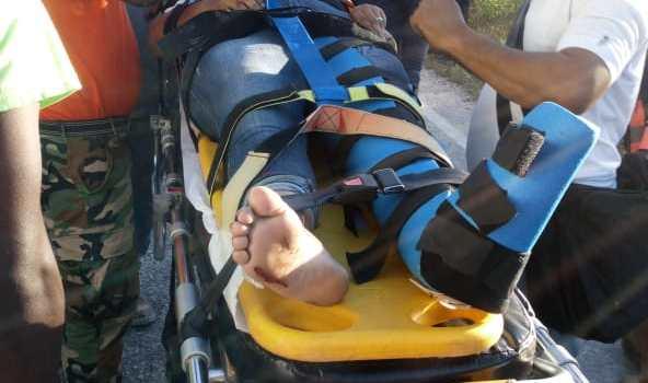 Varios heridos en accidente en el Puente Coronel