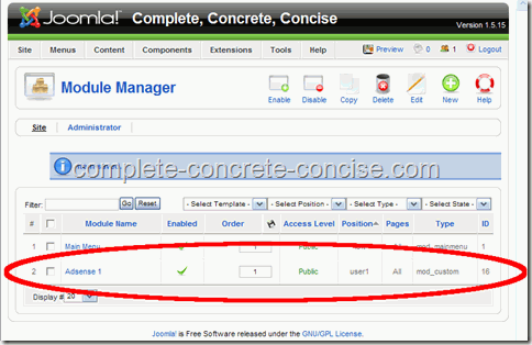 adsense-joomla-module-success