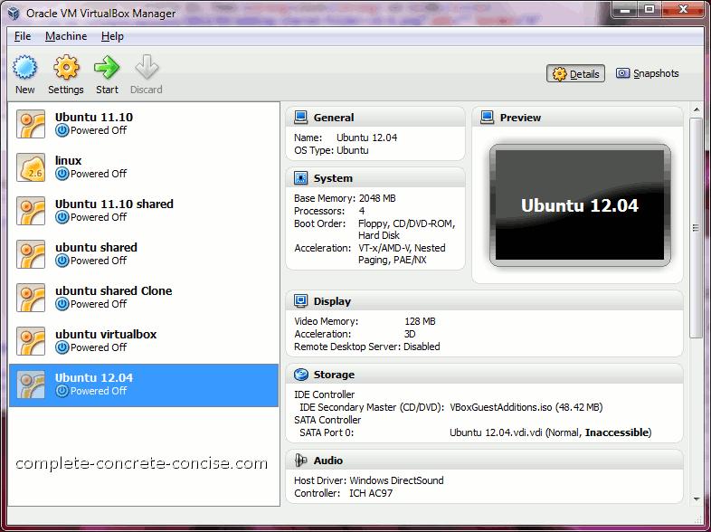 Ubuntu 12 04 – Adding a Shared Folder Under VirtualBox