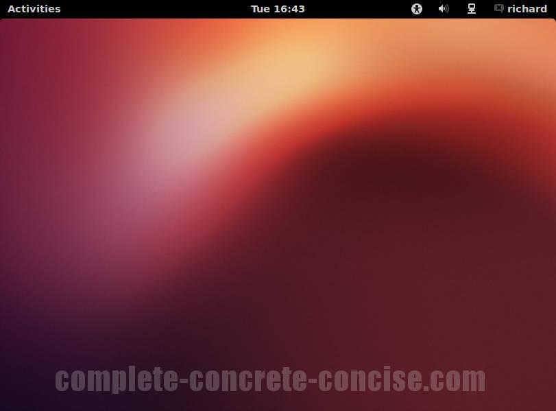 Ubuntu 12 10 – Installing GNOME Desktop – Complete, Concrete, Concise