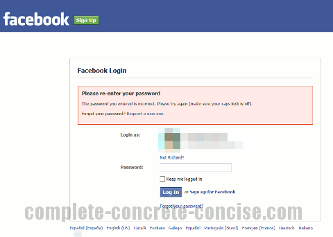 Security weakness in facebook login complete concrete concise security weakness in facebook login stopboris