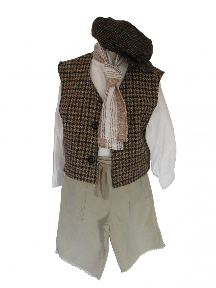 Boys Victorian Edwardian Oliver Fancy Dress Costume  Complete Costumes Costume Hire