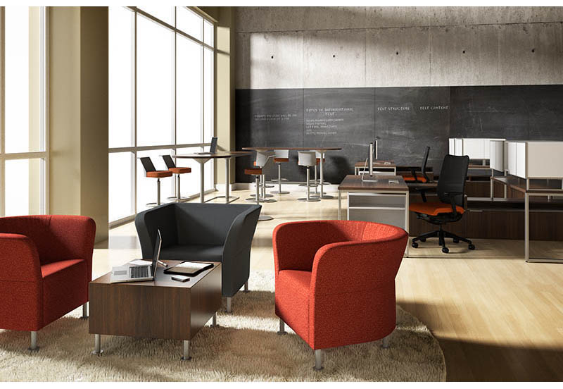 Collaborative  Complete Office Furniture  Interiors at Work