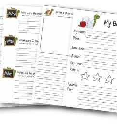 First Grade Book Report Template - Professional Plan Templates [ 816 x 1296 Pixel ]