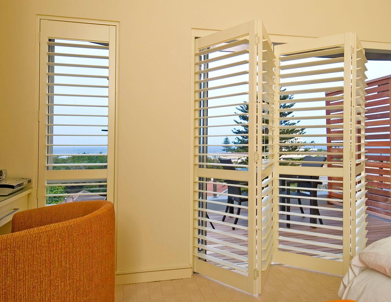 Plantation Shutters For Sliding Doors At Home Complete Blinds