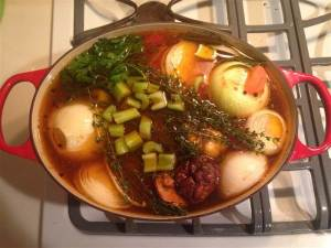 bone broth for water fast