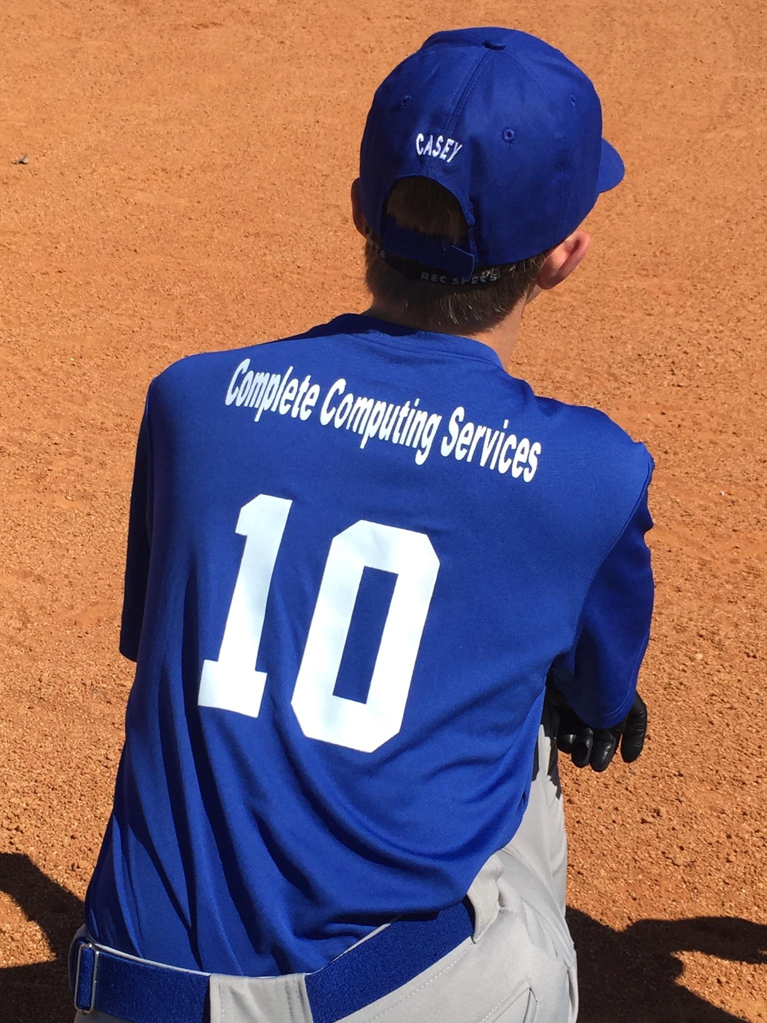 CCS sponsors the TSA Blue Jays baseball team