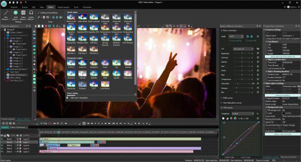 VSDC Video Editor Pro 6.7.3.299 Crack + License Key [ 2021 ]