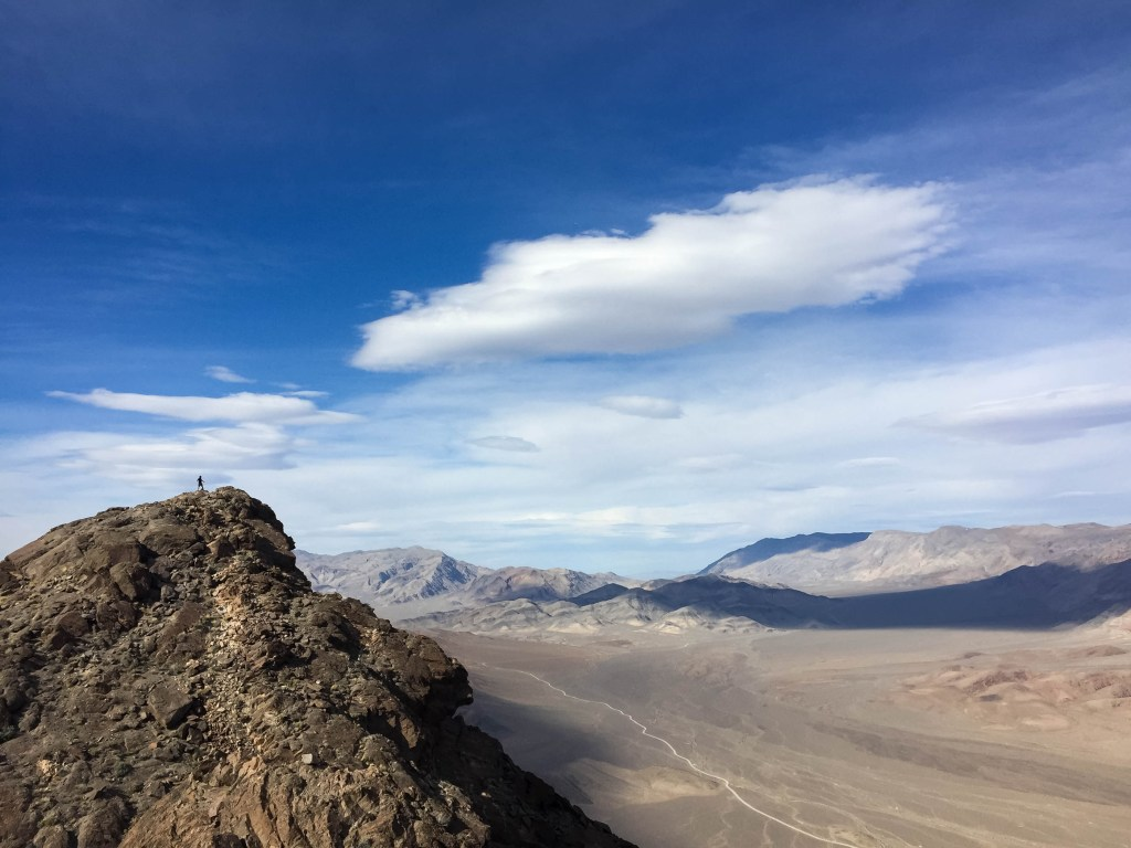 Take better pictures: Above the Racetrack in Death Valley.