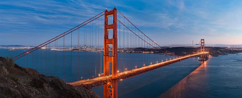 Panorama ebook: Golden Gate bridge