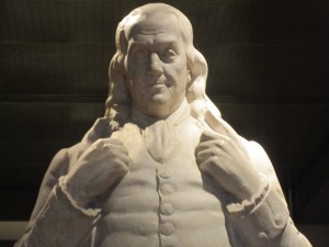 Benjamin Franklin's 13 Virtues of the Week