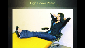 Change Your Body, change your mood high power pose 1