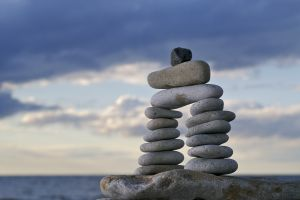 4 Ways I stay young and healthy zen rocks