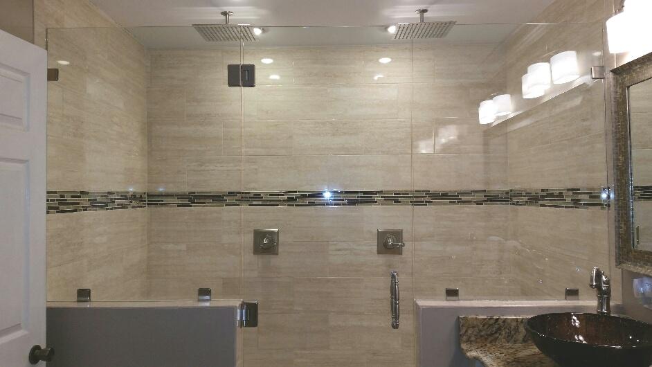 Install Shower Tile