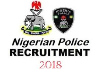 2018 Nigeria Police Recruitment Portal: www.policerecruitment.ng
