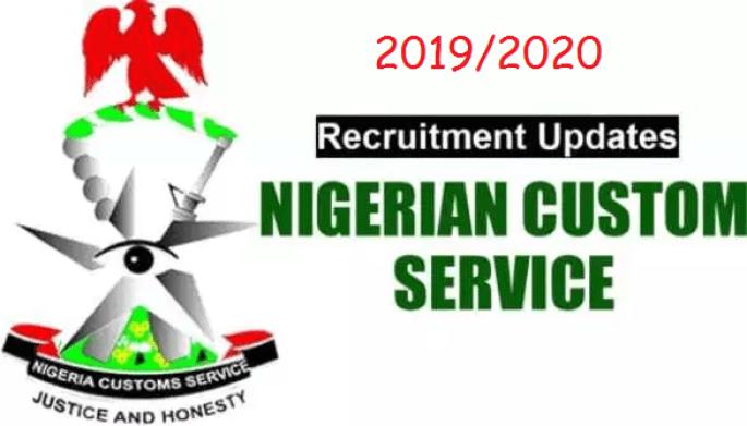 2019/2020 Recruitment of CUSTOMS ASSISTANT (GENERAL DUTY) - CONSOL 03