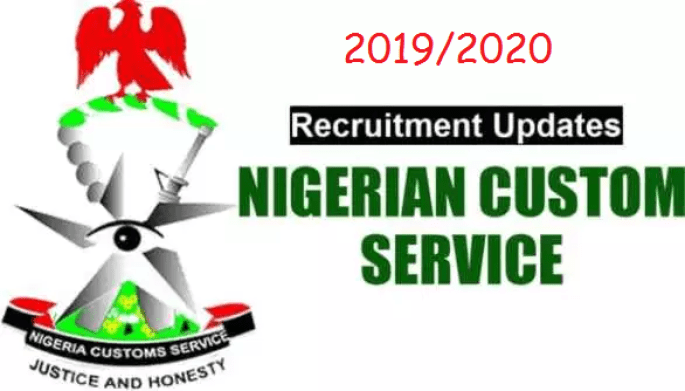 2019/2020 Recruitment of CUSTOMS ASSISTANT (GENERAL DUTY) - CONSOL 03