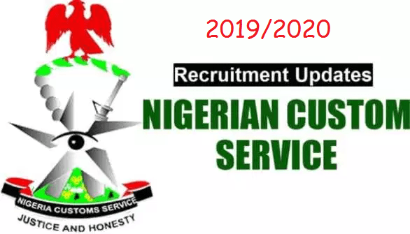 Nigeria Customs Service (NCS) 2019/2020 Nationwide Job Recruitment Application Guidelines
