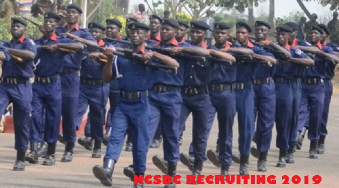 NSCDC  2019 massive recruitment Superintendent Cadre